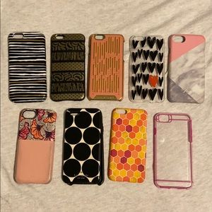 iPhone 6 - lot of 9 cases